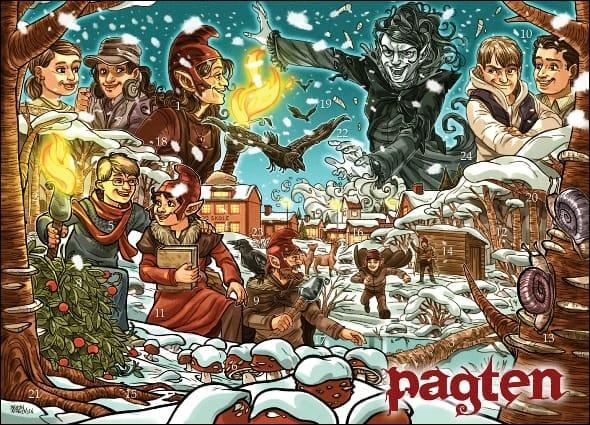 Pagten Julekalender 2013