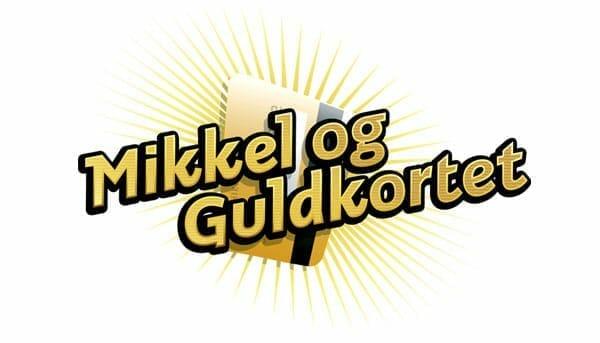 Mikkel og Guldkortet logo