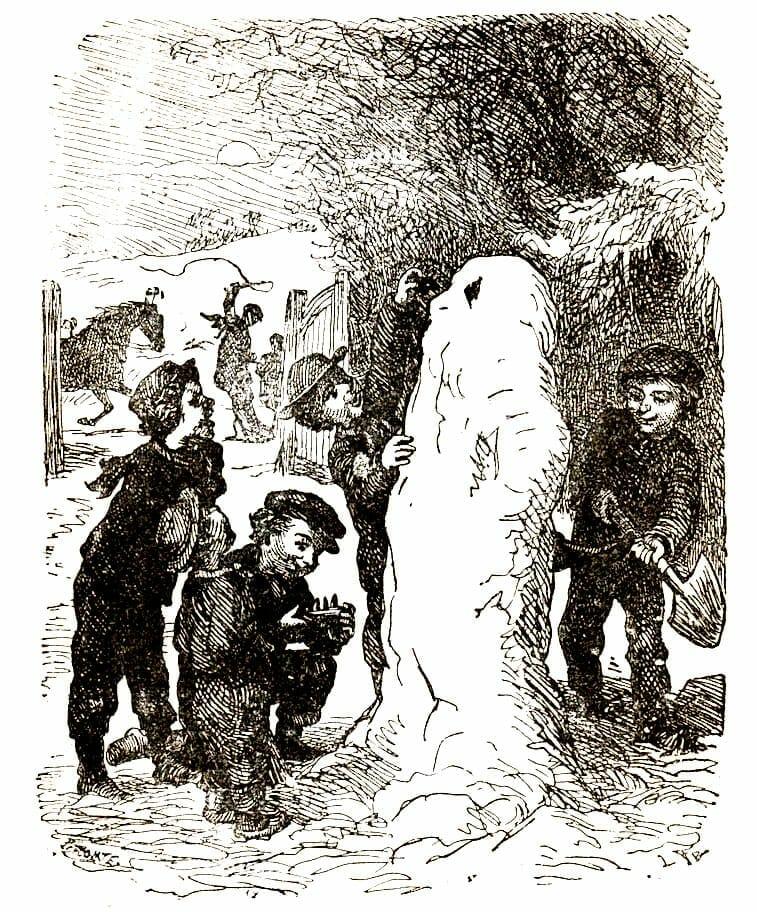 Snemanden af HC Andersen