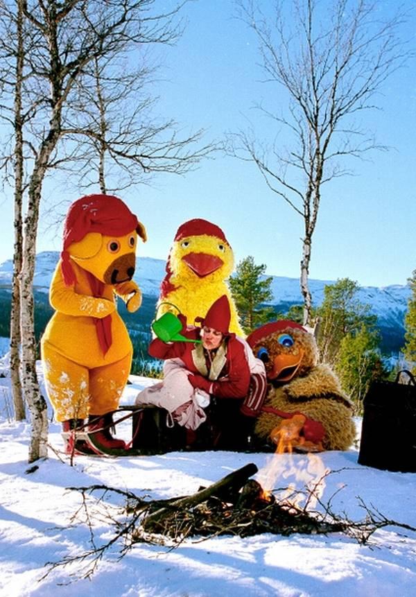 Hvornår blev 'Bamses julerejse' første gang sendt på DR1?