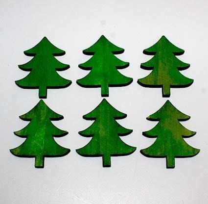Juletræer pynt